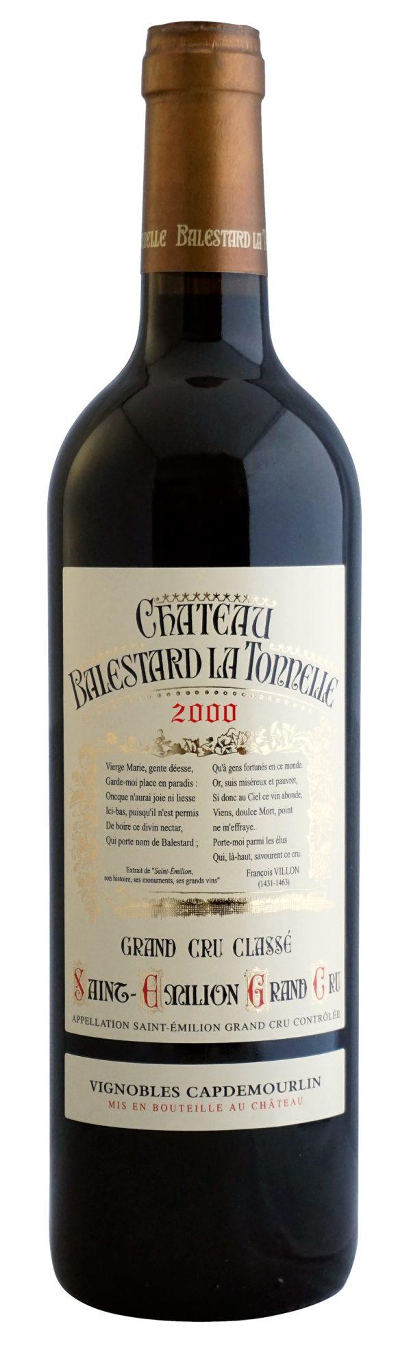 Château Balestard La Tonnelle 2000