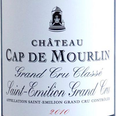 Etiquette Château Cap De Mourlin 2010