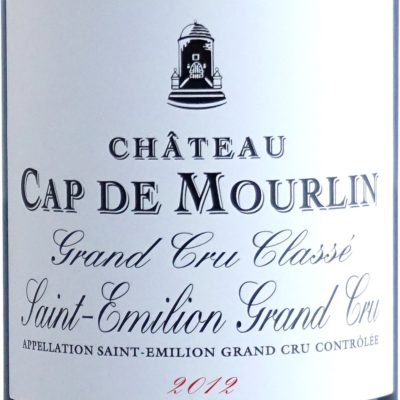 Etiquette Château Cap De Mourlin 2012