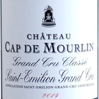 Etiquette Château Cap De Mourlin 2014
