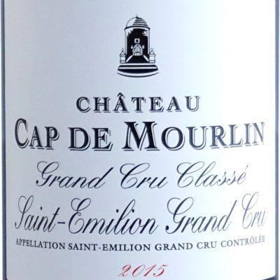 Etiquette Château Cap De Mourlin 2015