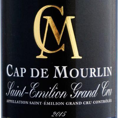 Etiquette CM Cap de Mourlin 2015