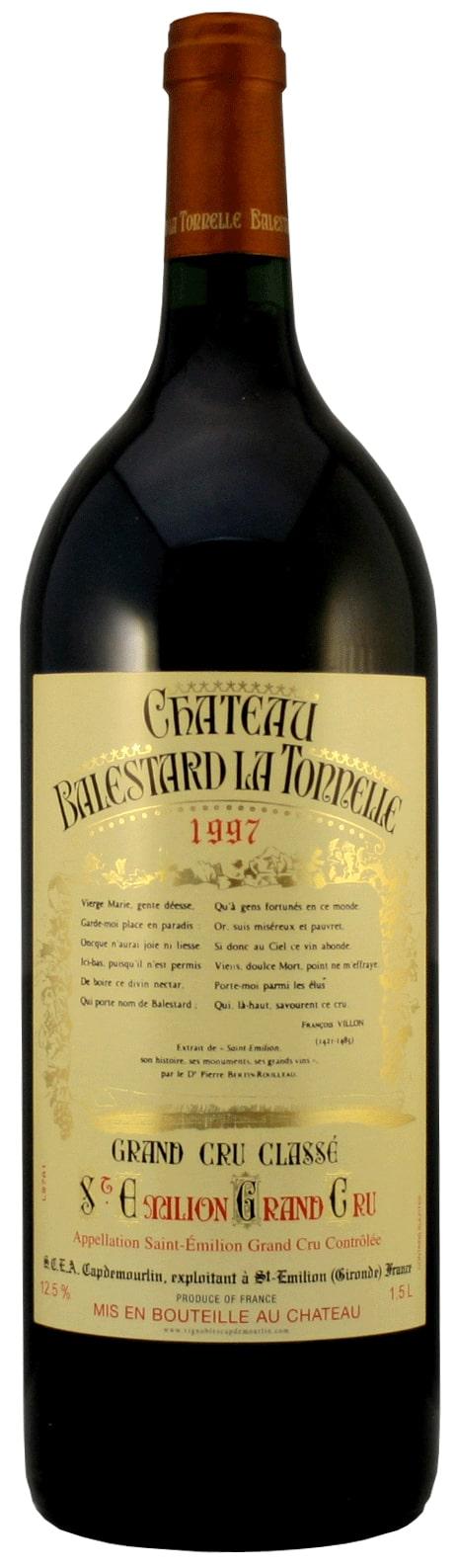 Château Balestard La Tonnelle 1997 Magnum