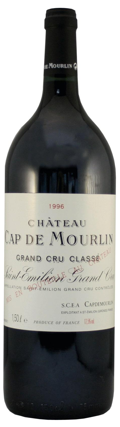 Château Cap De Mourlin 1996 Magnum