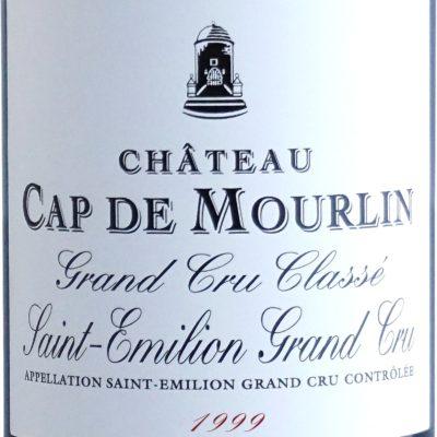 Etiquette Château Cap De Mourlin 1999