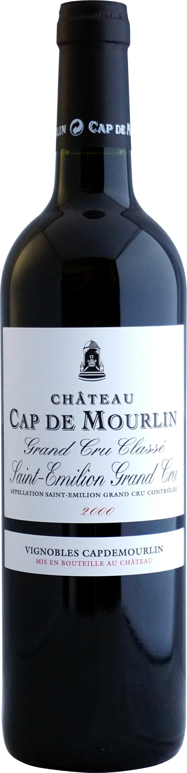 Château Cap De Mourlin 2000