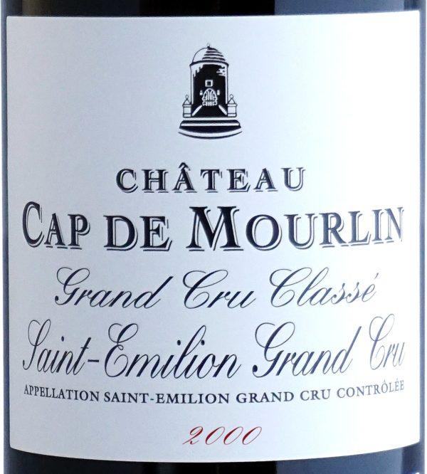 Etiquette Château Cap De Mourlin 2000